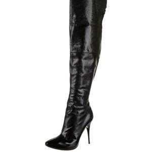 Alexander McQueen Patent Leather Boots